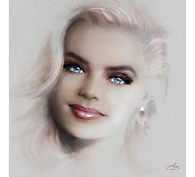 Blue Eyes Blond  Photographic Print
