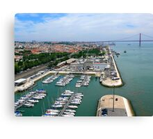 Belém Docks Canvas Print