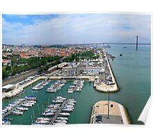 Belém Docks Poster