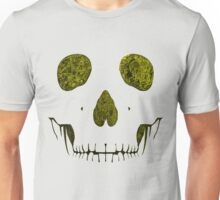 SKULLFACE #1 - YELLOW Unisex T-Shirt