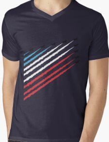 RAF Red Arrows Formation Mens V-Neck T-Shirt