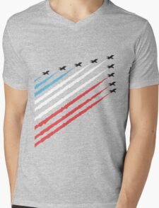 RAF Red Arrows Formation Mens V-Neck T-Shirt