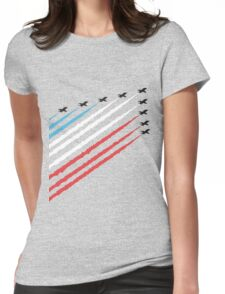 RAF Red Arrows Formation Womens Fitted T-Shirt
