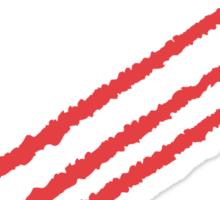 RAF Red Arrows Formation Sticker