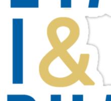 Theta Phi Alpha Modern Sticker