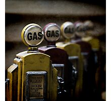gas Photographic Print