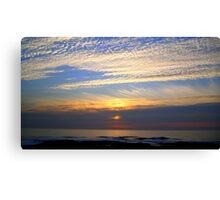 Autumn Sky~Sea Scapes Canvas Print