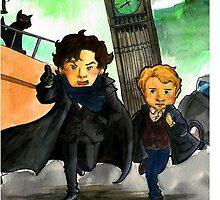 Sherlock & John (BBC) by glas-onion