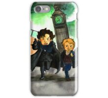 Sherlock & John (BBC) iPhone Case/Skin