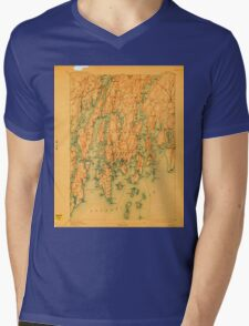 Maine USGS Historical Map Boothbay 807397 1893 62500 T-Shirt