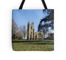 Canons Ashby Church Tote Bag