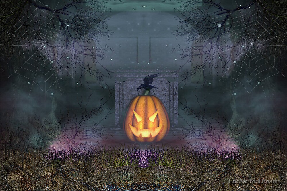 A Grave Pumpkin by EnchantedDreams