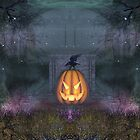 A Grave Pumpkin by EnchantedDreams