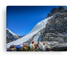 Atop Cho La Pass Canvas Print
