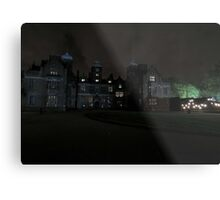 Aston Hall by Candlelight (Exterior) Metal Print