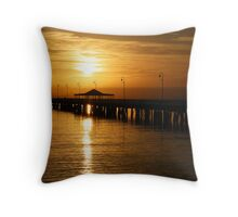 Sunrise at Sandgate Throw Pillow