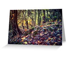 Beauty in simple things Greeting Card