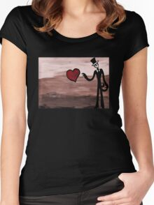 Fear Loves Women's Fitted Scoop T-Shirt