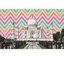 Retro Taj Photographic Print