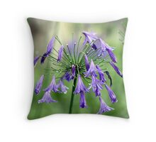 Purple Delight Throw Pillow