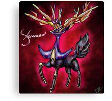 Xerneas - Pokemon X Legendary (Prints) Canvas Print