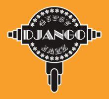 Django Gypsy jazz b&w by tenerson