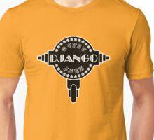 Django Gypsy jazz b&w Unisex T-Shirt