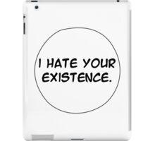 MANGA BUBBLES - I HATE YOUR EXISTENCE iPad Case/Skin