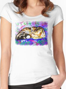 Pookie 2 The Magical Cat Women's Fitted Scoop T-Shirt