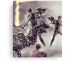 Old flames [Digital Figure Illustration] Canvas Print