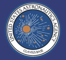 United States Astronautics Agency - Clavius Base Logo - 2001 by Buleste