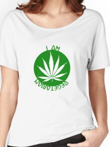 I AM VEGETARIAN  Women's Relaxed Fit T-Shirt