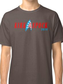 Kirk spock 2016 Funny Geek Nerd Classic T-Shirt