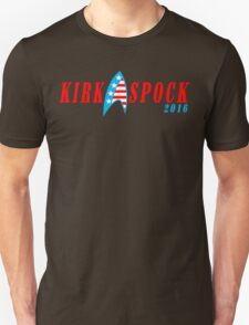 Kirk spock 2016 Funny Geek Nerd Unisex T-Shirt