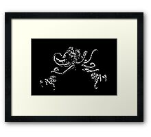 Cthulhu's coming  Framed Print