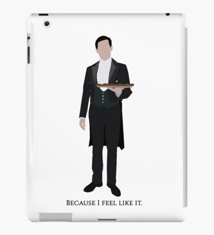 Downton Abbey - Thomas Barrow iPad Case/Skin