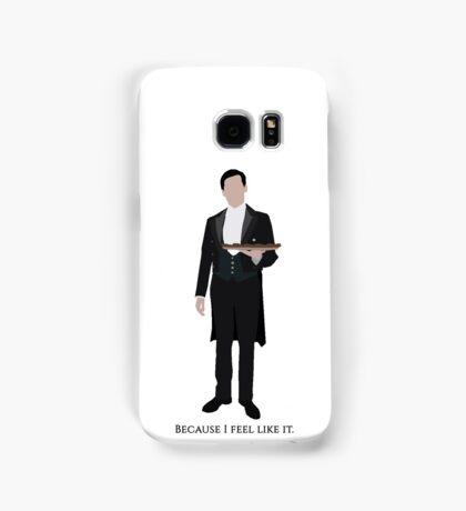 Downton Abbey - Thomas Barrow Samsung Galaxy Case/Skin