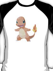 Charmander Low Poly T-Shirt