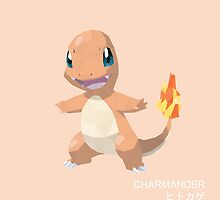 Charmander Low Poly by meowzilla