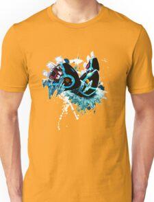 Genshi Kyogre (Blue Background) Unisex T-Shirt