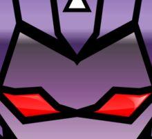TFxGB - Evil Gozerian (Faction Head) G1 METAL Sticker