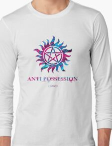 Supernatural Anti Possession Symbol Long Sleeve T-Shirt