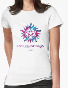 Supernatural Anti Possession Symbol Womens Fitted T-Shirt