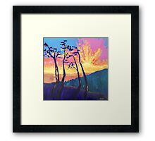 Explosion In The Sky Framed Print