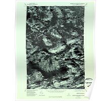Maine USGS Historical Map Boundary Bald Mountain 806531 1977 24000 Poster