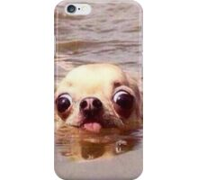 Swimming dog iPhone Case/Skin