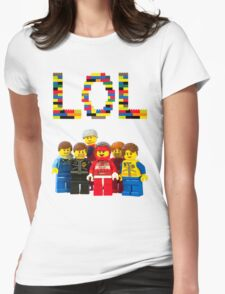 Laugh Out Loud! Womens Fitted T-Shirt