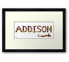 Addison Framed Print