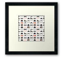 Hipsters Rule Framed Print