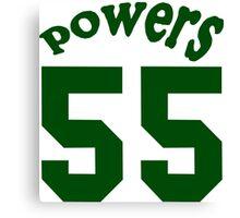 powers 55 Funny Geek Nerd Canvas Print